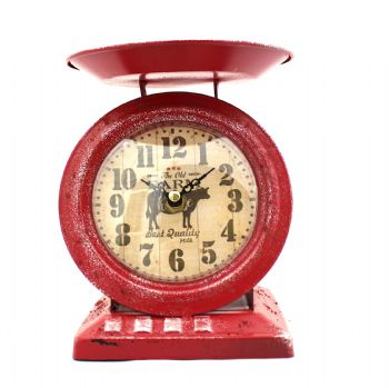 Butcher's Scale Clock